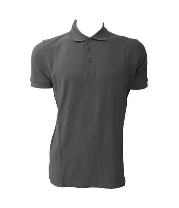 Jerzees Colours Mens Ultimate Cotton Short Sleeve Polo Shirt (Titanium) - UTBC569