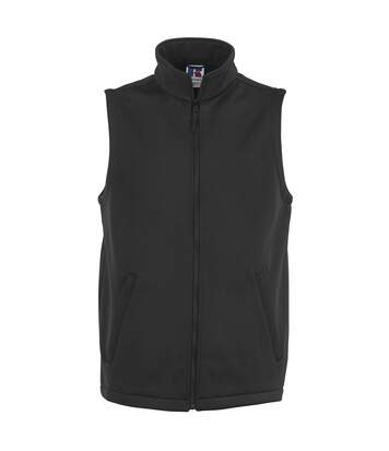 Russell Mens Smart Softshell Gilet Jacket (Black) - UTBC1511