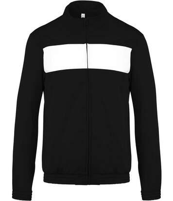 Veste survêtement sport PA347 - noir - homme