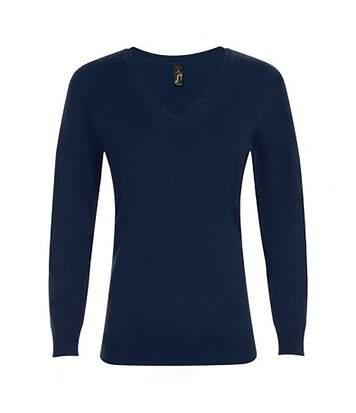 Sols Glory - Sweat À Col Rond - Femme (Bleu marine) - UTPC2830