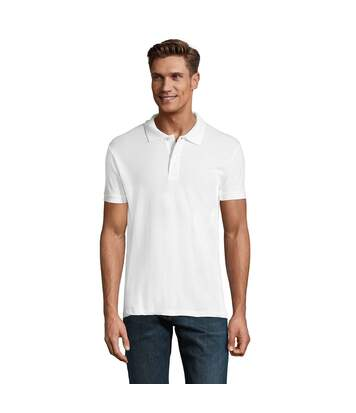 SOLS - Polo manches courtes PERFECT - Homme (Blanc) - UTPC283
