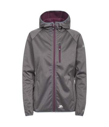 Trespass Womens/Ladies Shelly Waterproof Softshell Jacket (Carbon Marl) - UTTP3623