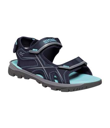 Regatta Womens/Ladies Kota Drift Sandals (Navy/Washed Azure) - UTRG4111