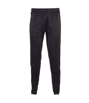 Tombo Teamsport Mens Slim Leg Training Pants/Trousers (Black) - UTRW4791