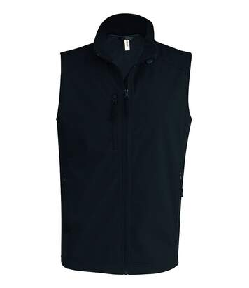 Bodywarmer softshell - gilet sans manches - K403 - noir - Homme