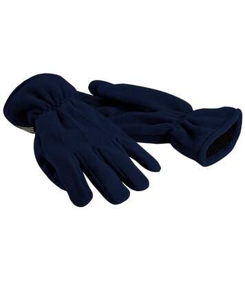 Beechfield - Gants Thermiques En Polaire Thinsulate - Adulte Unisexe (Bleu marine) - UTRW235