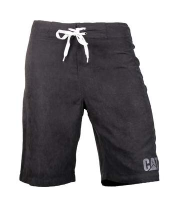 CAT Lifestyle Mens C2820967 Logo Drawstring Board Shorts (Black) - UTFS3758