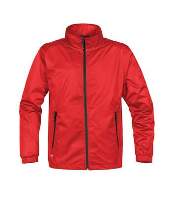 Stormtech Mens Axis Lightweight Shell Jacket (Waterproof And Breathable) (Sports Red/Black) - UTBC3070