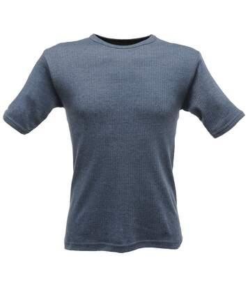 Regatta - T-Shirt Thermique À Manches Courtes - Homme (Bleu denim) - UTRG1427