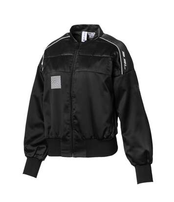 Blouson noir femme Puma BMW WMN Street Jacket
