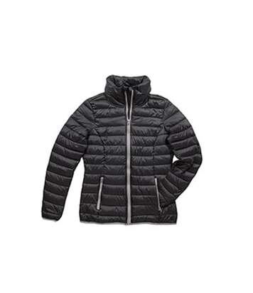 Stedman Womens/Ladies Active Padded Jacket (Black Opal) - UTAB313