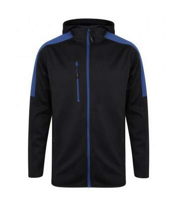 Finden & Hales Mens Active Soft Shell Jacket (Navy/Royal) - UTPC3079