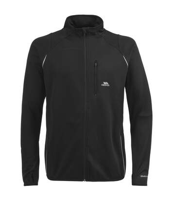 Trespass Mens Whiten Long Sleeve Quick Dry Active Jacket (Black) - UTTP328