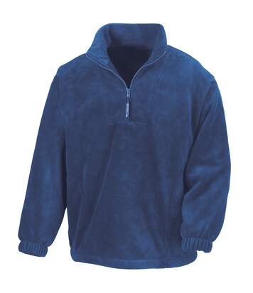 Result Unlined Active 1/4 Zip Anti-Pilling Fleece Top (Royal) - UTBC920
