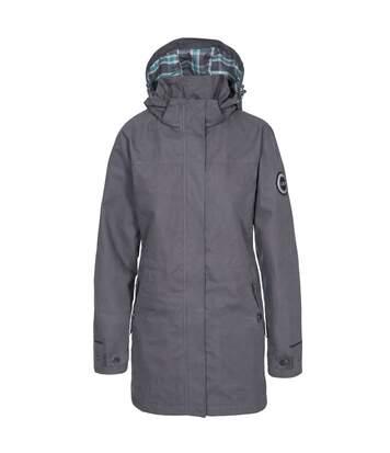 Trespass Womens/Ladies Henriette Waterproof DLX Jacket (Carbon) - UTTP4652