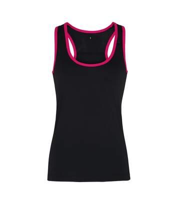 Tri Dri - Débardeur de fitness - Femmes (Gris foncé/Saphir) - UTRW4801