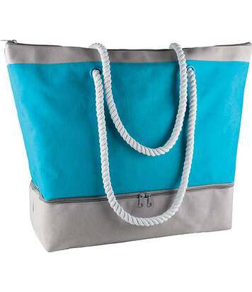 Sac de plage isotherme Turquoise / Light Grey