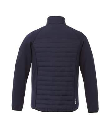 Elevate Mens Banff Hybrid Insulated Jacket (Red) - UTPF1926