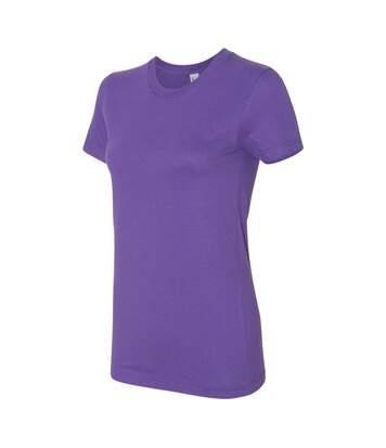 American Apparel - T-Shirt - Femme (Violet) - UTBC4005