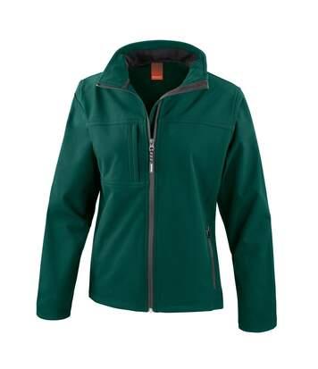 Result Womens Softshell Premium 3 Layer Performance Jacket (Waterproof, Windproof & Breathable) (Navy Blue) - UTBC2045
