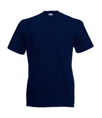 Fruit Of The Loom - T-Shirt Manches Courtes - Homme (Bleu marine foncé) - UTBC330
