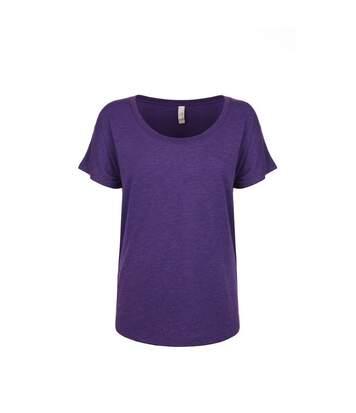 Next Level - Tri-Blend Dolman T-Shirt - Femme (Violet) - UTPC3494