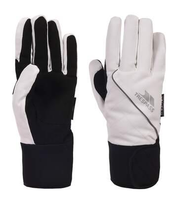 Trespass Womens/Ladies Whiprey Waterproof Active Sport Gloves (White) - UTTP155