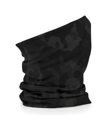 Echarpe tubulaire - tour de cou adulte - B900 - noir camo