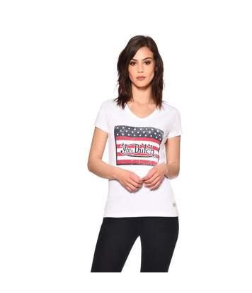 T-shirt Col Rond Imprimé Used USA