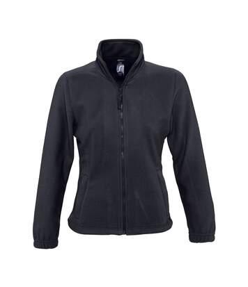SOLS Womens/Ladies North Full Zip Fleece Jacket (Charcoal) - UTPC344