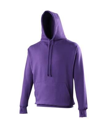 Awdis Mens Street Hooded Sweatshirt / Hoodie (Purple) - UTRW170