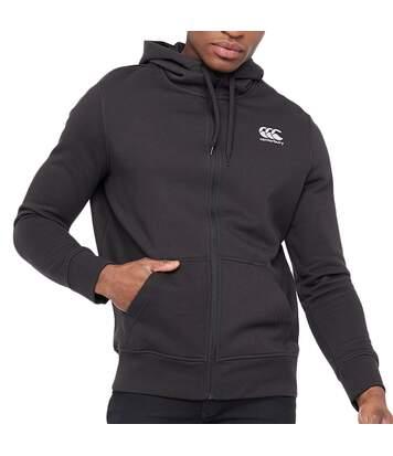 Sweat à capuche Noir Homme Canterbury Fleece