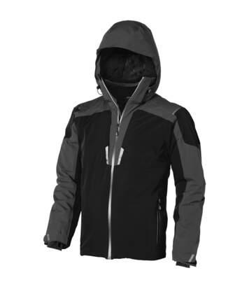 Elevate Mens Ozark Insulated Jacket (Solid Black/Grey) - UTPF1918