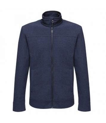 Regatta Mens Parkline Full Zip Fleece Jacket (Navy) - UTRG3569