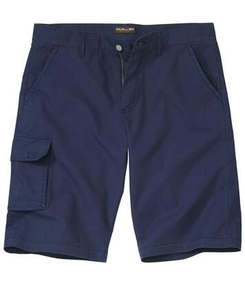 Men's Navy Cargo Shorts