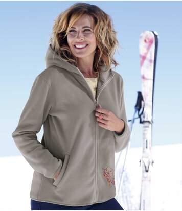 Флисовая Куртка с Капюшоном фото