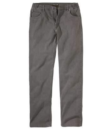 Jeans Regular Stretch Taille Semi-Elastiquée
