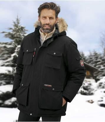 Polar Expedition parka met capuchon met imitatiebont