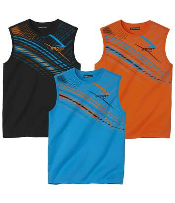 Set van 3 tanktops Sporting