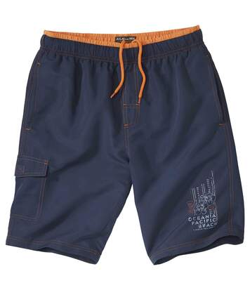 Men's Ocean Blue Swim Shorts