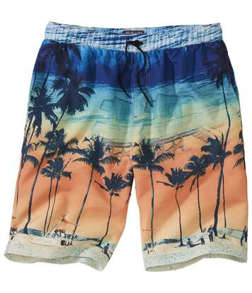 Men's Tropical Microfibre Swim Shorts