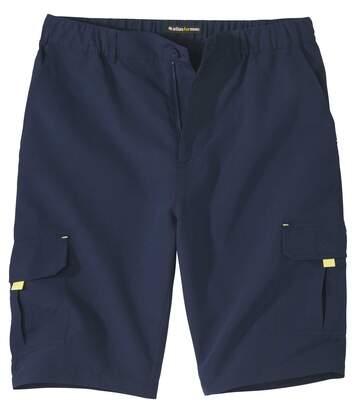 Men's Microfibre Cargo Shorts - Navy