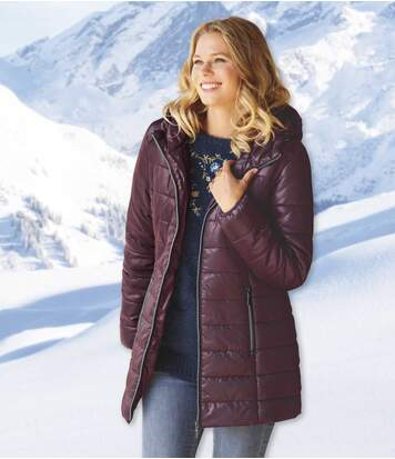 Women's Longline Padded Jacket
