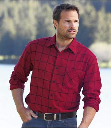 Фланелевая Рубашка от Atlas For Men