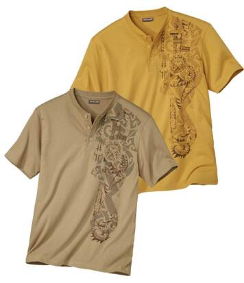Lot de 2 Tee-Shirts Tahua