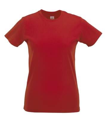 Russel - T-Shirt À Manches Courtes - Femme (Rouge) - UTBC1514