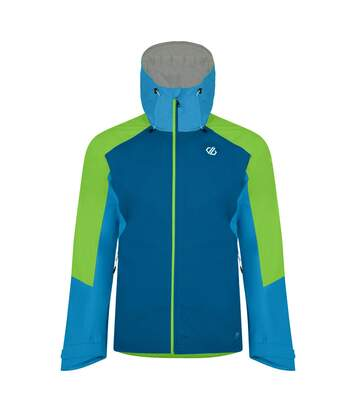 Dare 2B Mens Aline Waterproof Jacket (Petrol Blue/Jasmine Green) - UTRG4324