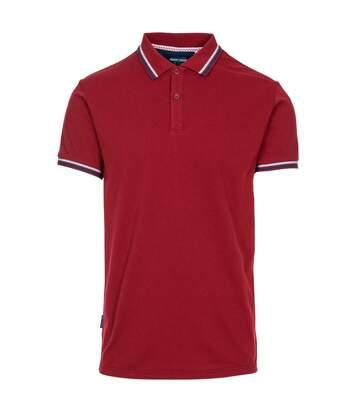 Trespass Mens PoloBrook Polo Shirt (Merlot) - UTTP5055