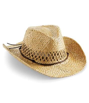 Beechfield - Chapeau De Cowboy En Paille - Adulte Unisexe (Naturel) - UTRW4083