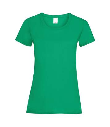 T-Shirt À Manches Courtes - Femme (Vert) - UTBC3901